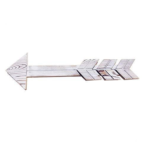 Cartel de Flecha de Madera r/ústica para decoraci/ón de Pared cafeter/ía Oficina y Boda Bar Granja Fuxi Creative hogar Juego de 2