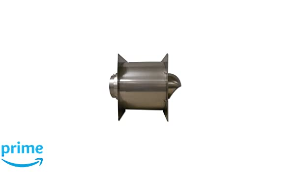 Noritz WT5-H-14 5-Inch Stainless Steel Wall Thimble for Thick Wall