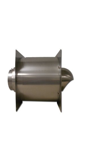 Noritz WT5-H-14 5-Inch Stainless Steel Wall Thimble for Thick Wall by Noritz B008ORCRIY