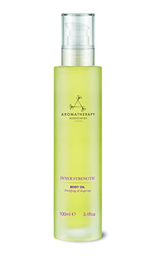 Aromatherapy Associates Inner Strength Body Oil , 3.4 Fl Oz. Enriched with Jojoba and Peach Kernel Oil combining anxiety-soothing Clary Sage and purest Geranium to balance scattered emotions