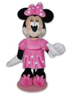Peluche minnie disney gigante