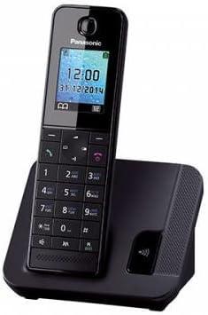 Panasonic KX-TGH210 - Teléfono (Teléfono DECT, 200 entradas, Identificador de Llamadas, Negro): Amazon.es: Electrónica