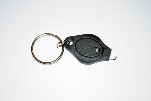 Leegoal Mini LED Keychain Micro-Light, White Beam