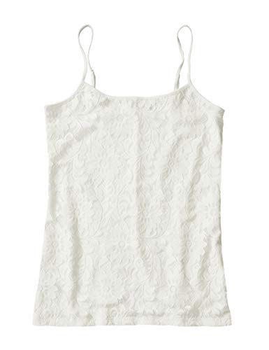 (Ann Taylor LOFT Outlet Women's Lace Overlay Camisole (Small,)