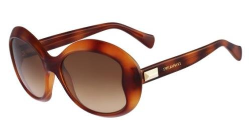 EMILIO PUCCI Sunglasses EP745S 214 Havana 54MM (214 Sunglasses)