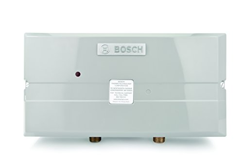 Bosch Electric Tankless Water Heater - Eliminate Time for Hot Water - Easy Installation ()