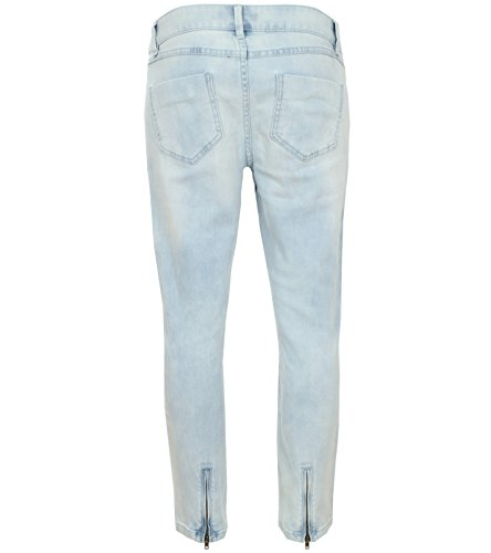 rick cardona 3/4 Hose Damen Jeans Denim Blau 178654