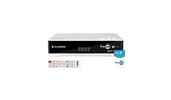 CAHORS VEOX HD 2VA Receptor Fransat hd + Tarjeta Fransat + 2 ...