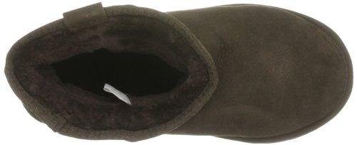 Delle Caviglia alta Pecora Cioccolato Di Stinger Del Pelle Di Mini Donne Emu Avvio v6wgnqBA