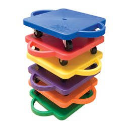 SCOOTER BOARD PACKAGE (SET OF 6) by Gamecraft