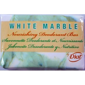 Dial White Marble Deodorant Bar Soap (box of 1000)