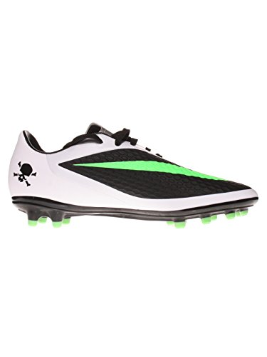 Nike Guantes niños Jr Hypervenom Phelon FG Black/N Lime de White de mtllc SLVR