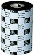 Zebra 03200BK10245 Wax Resin Ribbon 4.02inx1476ft 3200 High Performance 1in core - Thermal Transfer - Black - 6 Pack