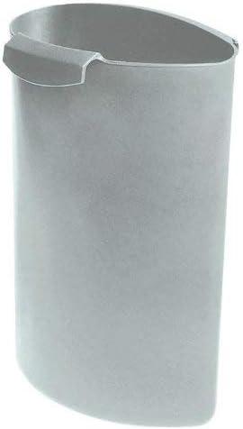 Schwarz as per variation ASIN Abfalleinsatz MOON F/ür die perfekte Abfalltrennung 6 Liter Schick und Praktisch HAN 1837-13