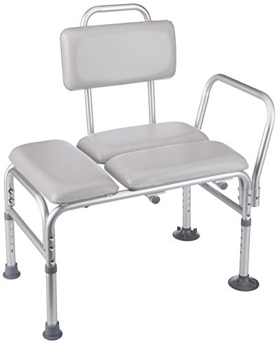 - Homecraft Padded Transfer Bench, Elderly Living Assist Tool for Transferring & Moving from Shower & Bath, At Home Living Device for Disabled, Injured, or Post-Op, Bathroom Safety & Mobility Aid