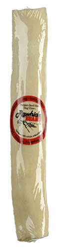 Round Knot Rawhide Bones - Rawhide Brand 9-Inch by 1-Inch Natural Roll Shrink/Decal