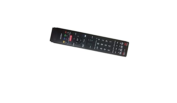 Easy Replacement Remote Control Fit for Sharp LC70C8470U LC-70LE745 LC70LE745U LC-70LE745U LC70LE757U LC-70LE757U Smart LCD LED HDTV TV