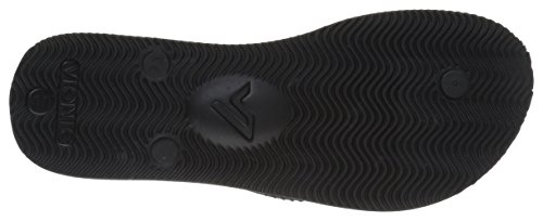 Vionic Mens Beach Manly Infradito Nero / Nero