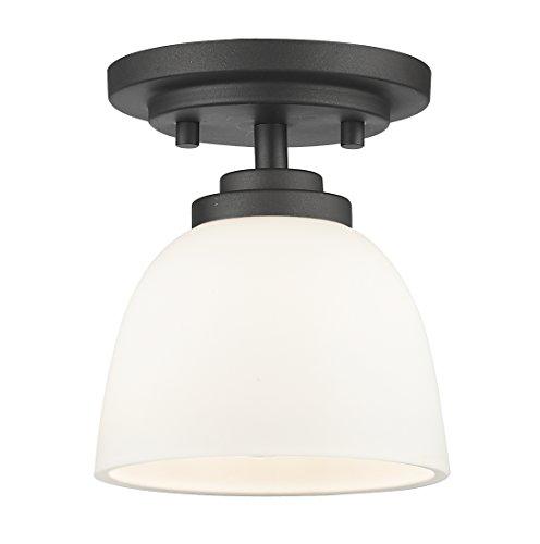 Z-Lite 443F1-BRZ 1 Light Flush Mount 1 ()