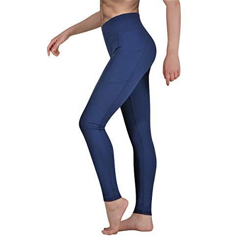 🥇 Occffy Leggings Mujer Fitness Cintura Alta Pantalones Deportivos Mallas para Running Training Estiramiento Yoga y Pilates P107