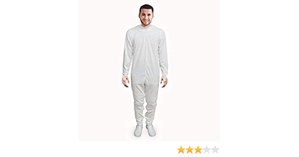 Pijama antipañal de sarga (verano), manga y pierna larga. talla M