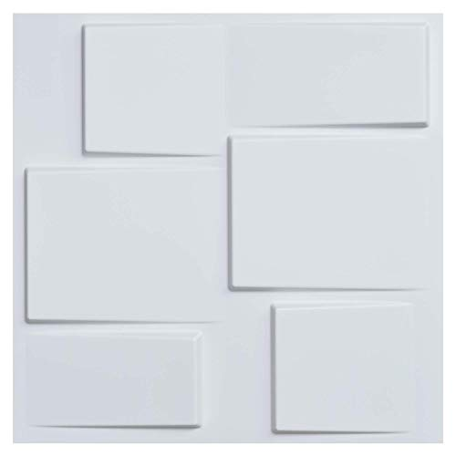 - Art3d Architectural 3D Wall Panels Textured Design Art Pack of 12 Tiles 32 Sq Ft