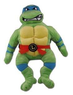 [해외]Teenage Mutant Ninja Turtles Leonardo Plush Figure Backpack 18 / Teenage Mutant Ninja Turtles Leonardo Plush Figure Backpack 18