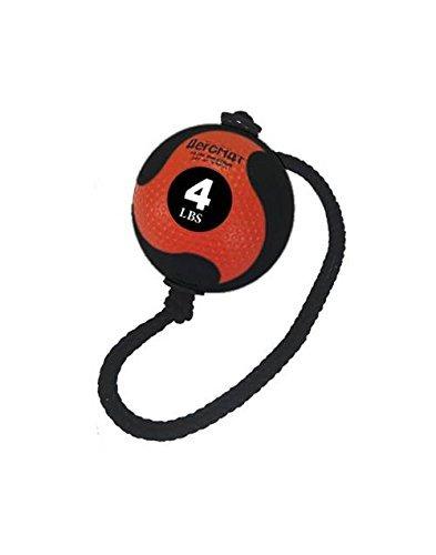AEROMATS Power Rope Medicine Ball in Orange