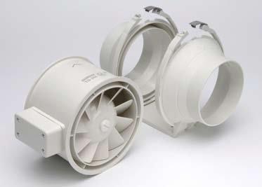 Mixed Flow Duct Fan, 12 In. Dia.