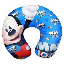 Mickey Mouse - Cojín de Cuello para niños, Almohada de Viaje ...