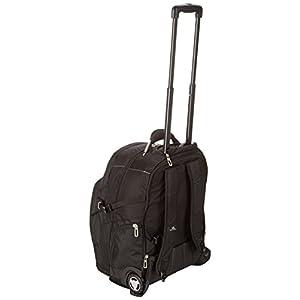 High Sierra XBT Wheeled Laptop Backpack, Black