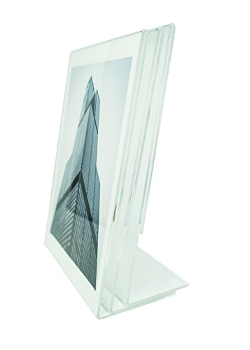 Heavy Duty Acrylic Display Stand - 3 Pack | Solid Sign Holder Will Last for Years | Holder For All Display Needs | Display Stand is 3mm Thick by WPG a Creation Connections Company