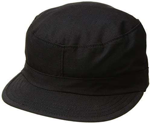 Propper Men's Bdu Patrol Cap - 100% Cotton, Black, x Large ()
