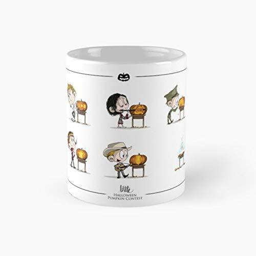 Little Halloween Pumpkin Contest Mug little hiddles Tea Cups, 11 Ounce Ceramic Mugs, Perfect Novelty Gift Mug, Funny Gift Mug, Tea Mugs, Funny Coffee Mug 11oz