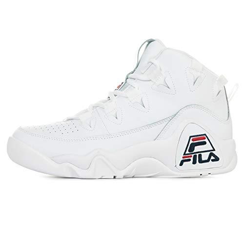 Pelle Da Scarpe Uomo Collo Sneaker 1010579 Fila 1fg 95 A Alto Bianco In H1wCqnnz