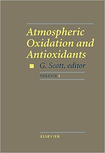 Atmospheric Oxidation and Antioxidants: 001