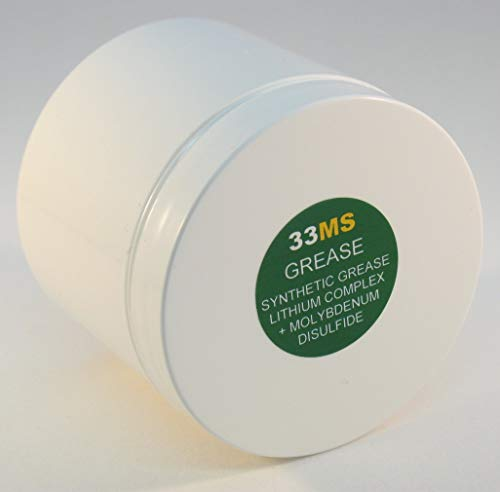 4 oz AEROSHELL 33MS Lithium Moly Synthetic MIL-SPEC Barrel Nut Thread Grease