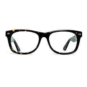 Geek Eyewear Rad09 Vintage Retro Wayfarer Designer Eyeglasses Tortoise Frames