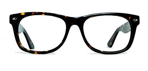 Geek Eyewear Rad09 Vintage Retro Wayfarer Designer Eyeglasses Tortoise - Online Wayfarers Buy