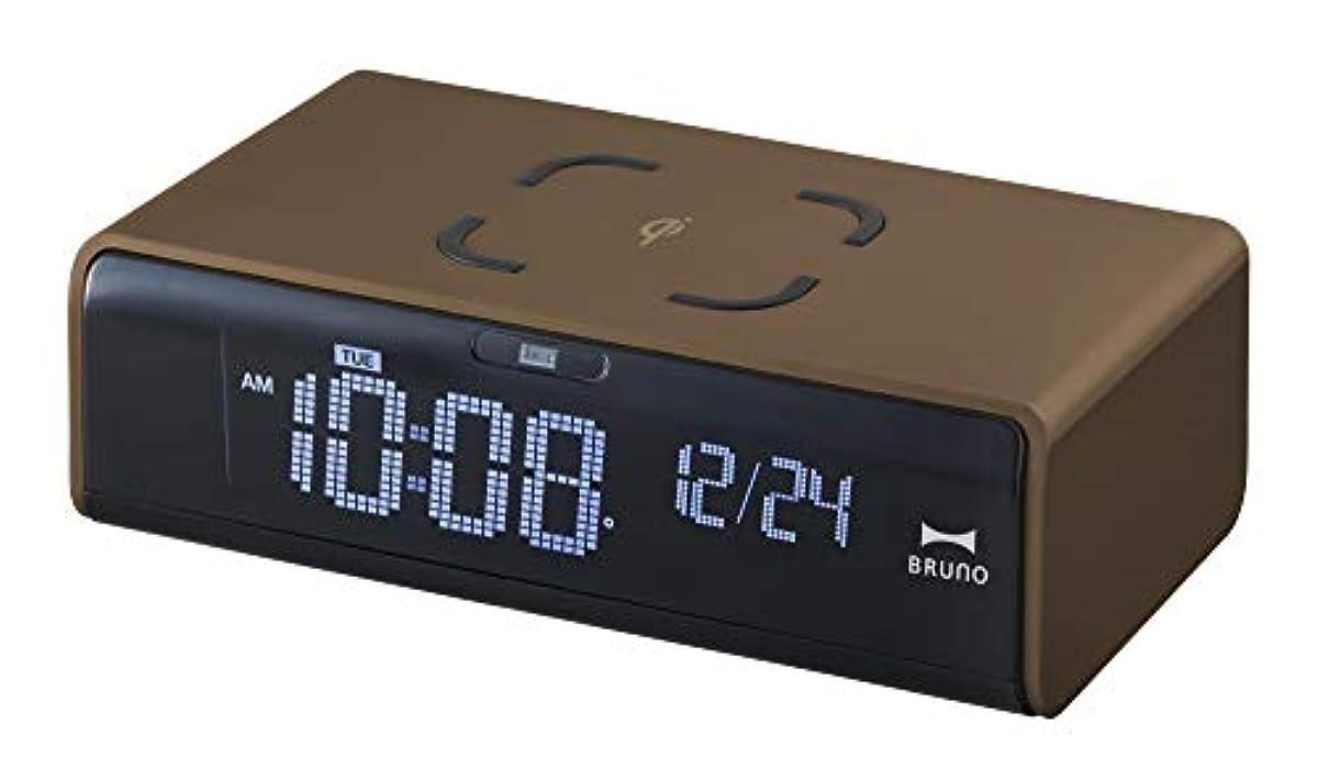 [해외] 브루노 LCD 시계 브라운 BCA020-BR