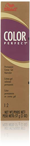 Wella Color Perfect Permanent Creme Gel Haircolor 6n Dark Blonde for Unisex, 2 Ounce (Wella Hair Gel Products)