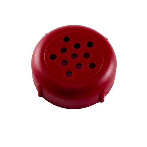 Revolutionary New 6-8 OZ Plastic Cheese Shaker Lids 1 Dozen. Rust Proof! (Black) Forever lids