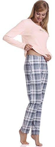 Italian Fashion IF Pijamas para mujer M007 Salmón(Linda)