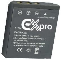 Ex-Pro High Power Plus+ 2 Year Warranty Replacement Lithium Li-on Digital Camera Battery for Premier :- DS-888 DS-A350 SL-86 Super Z DS-8330 SL-8 DS-8340 DS-C350 DS-8350 DS-8650 SL-83 DS-8460 DS-7450