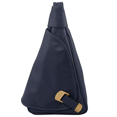 Dos Foncé Leather En Hanoi À Bleu Cuir 98140966 Sac Tuscany xXqUpzz