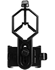 SVBONY Universal Cell Phone Adapter Mount Telescope Phone Mount for Binocular Monocular Spotting Scope Telescope Support Eyepiece Diameter 25 to 48mm