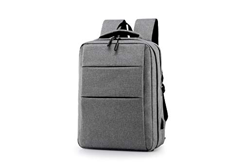Travel Laptop Backpack,Business Anti Theft Slim Durable Laptops Backpack with USB Charging Port,Water Resistant College School Computer Bag for Women & Men Fits 15.6 Inch Laptop and Notebook (grey)
