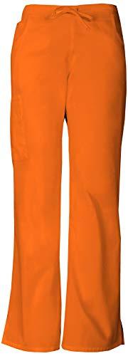 Everyday Scrubs Signature by Dickies Women's Mid Rise Drawstring Cargo Pant Medium Tall Pumpkin]()