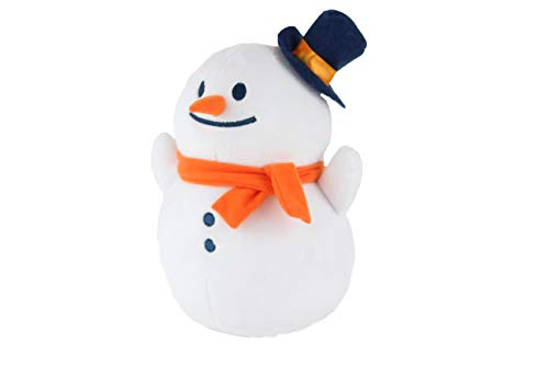 (Nappy Christmas Stuffed Animal Toy Snowman Jack Frosty Christmas Decor (10 Inches))