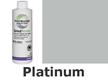 Grout Renew - Platinum (Custom Building Products Polyblend Grout Color Platinum)